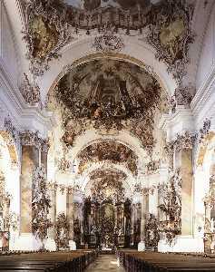 Interior with decoration