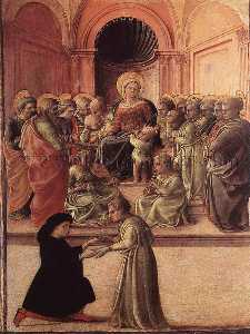 Madonna and Child with Saints and a Worshipper
