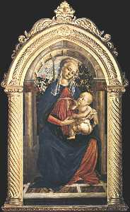 Madonna of the Rosengarden (also known as Madonna del Roseto)