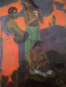 Maternity (also known as Three Woman on the Seashore)