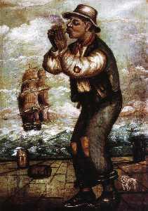 Man on Dock LIghting Pipe