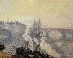 Morning, Overcast Day, Rouen