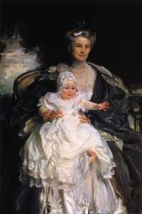 Mrs. Henry Phipps and Her Granson Winston