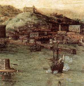 Battaglia navale nel Golfo di Napoli particolare