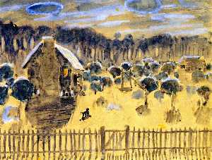 NIght, Orange Grove