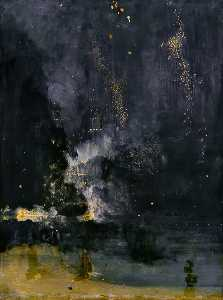 Nocturne in Black and Gold: The Falling Rocket