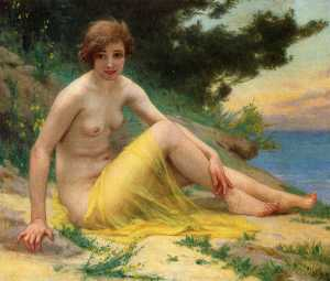 Nude at the Beach (also known as On the Shore)