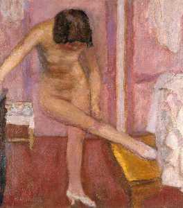 Nude Bending Down
