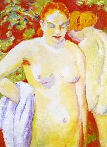 Nudes on Vermilion (sketch)