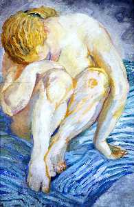Nude Study (also known as Female Nude)