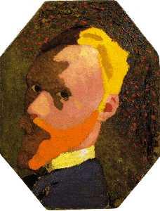 Octagonal Self-Portrait