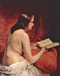 Odalisque with Book