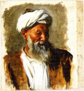 Old Man with a White Turban