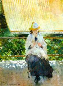 On the Terrace at Sevres