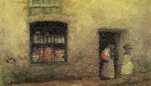 An Orange NOte: Sweet Shop