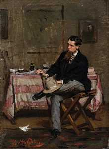 The Painter Vincenzo Cabianca