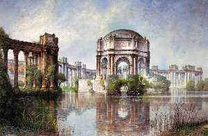 Palace of Fine Arts and the Lagoon