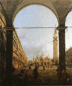 Piazza San Marco, Looking East