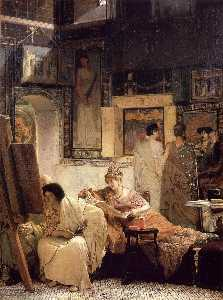 A Picture Gallery (also known as Benjamin Constant)