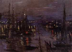 The Port of Le Havre, Night Effect