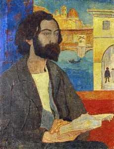 Portrait of Emile Bernard at Florence