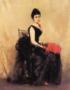 Portrait of Flora de Stephano