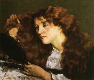 Portrait of Jo, the Beautiful Irish Woman