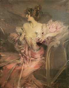 Portrait of Madame de Florian