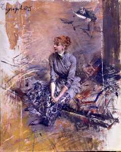 Portrait Of Madame Gabrielle Rejane