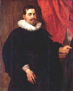 Portrait of a Man, Probably Peter Van Hecke