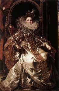 портрет мария серра pallavicino