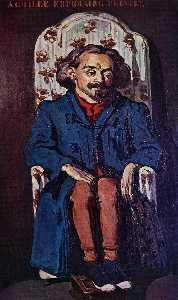 Portrait of the Painter, Achille Emperaire