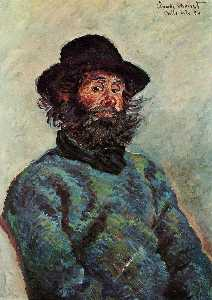 Portrait of Poly, fisherman at Kervillaouen