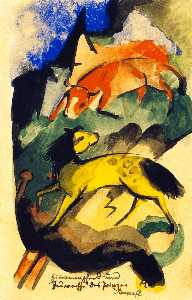 Prince Jussuff's Lemon Horse and Fire Ox