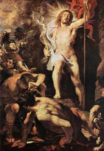 The Resurrection of Christ (central panel)