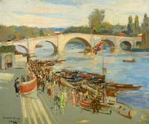 Richmond Bridge, London