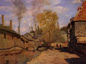 The Robec Stream, Rouen (also known as Factories at Deville, near Rouen)