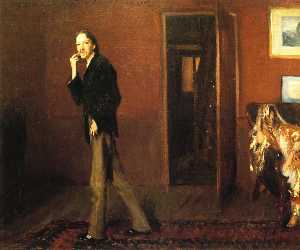 Robert Louis Stevenson and his wife