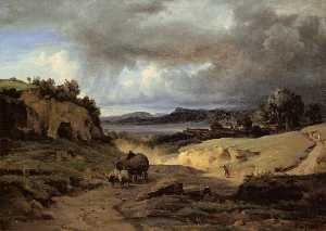 'The Roman Campagna (also known as La Cervara)'