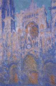Rouen Cathedral, Symphony in Grey and Rose