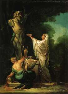 The Sacrifice to Priapus