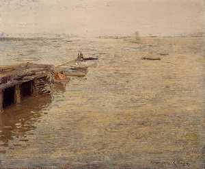 Seashore (also known as A Grey Day)