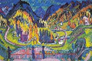 Sertig Valley in Autumn