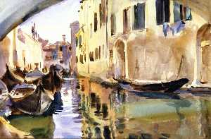 A Smal Canal, Venice