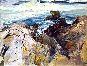 The Smugglers (study)