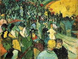 Spectators in the Arena at Arles