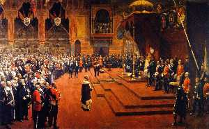 State Visit of Her Majesty, Queen Victoria, to the Glasgow International Exhibition, 1888