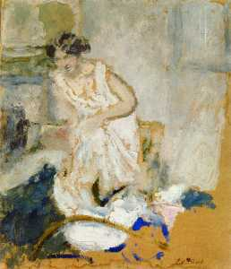 Study of a Woman in a Petticoat