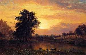 Sunset in the Catskills