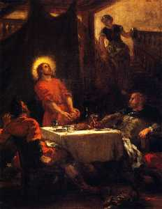 The Supper at Emmaus (also known as The Pilgrims of Emmaus)